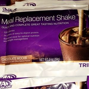 10 Advocare Meal Replacement Packets Mocha